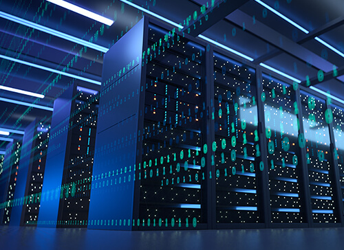Soluzioni Cloud E Hybrid Cloud Di Storage, Hosting, Housing